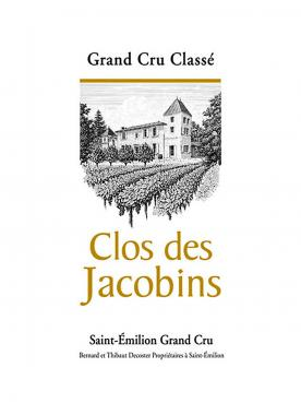 Clos des Jacobins 2016 Original wooden case of 12 bottles (12x75cl)