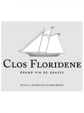 Clos Floridène 2018 Original wooden case of 6 bottles (6x75cl)