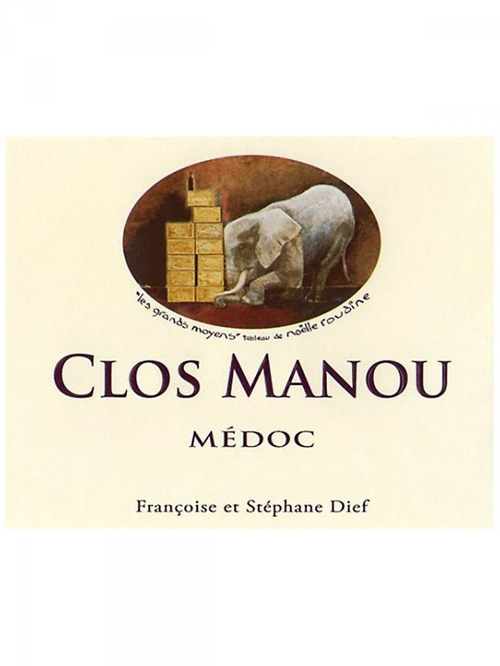 Clos Manou 2013 Original wooden case of 6 bottles (6x75cl)