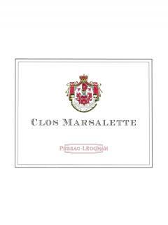 Clos Marsalette 2016 Original wooden case of 12 bottles (12x75cl)