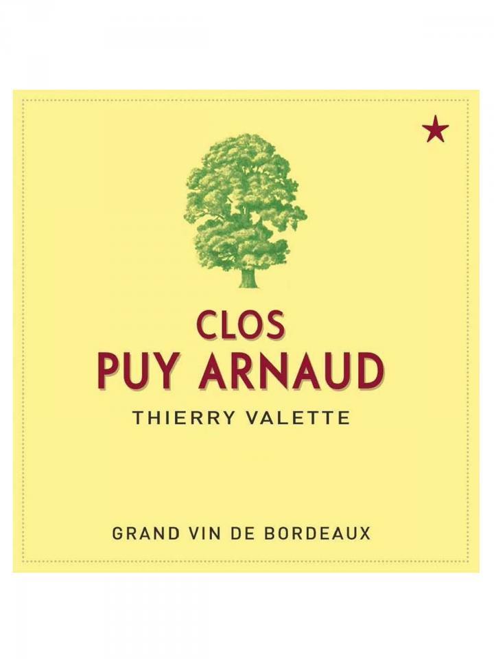 Clos Puy Arnaud 2016 6 bottles (6x75cl)