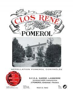 Clos René 1996 Bottle (75cl)