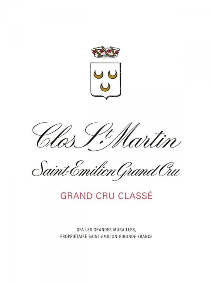Clos Saint-Martin 1983 Bottle (75cl)