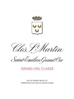 Clos Saint-Martin 2009 Original wooden case of 12 bottles (12x75cl)