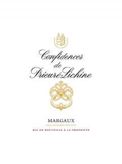 Confidences de Prieuré-Lichine 2016 Original wooden case of 6 bottles (6x75cl)