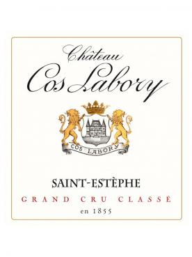 Château Cos Labory 2018 Original wooden case of 12 bottles (12x75cl)