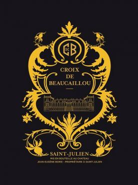 Croix de Beaucaillou 2017 Original wooden case of 6 bottles (6x75cl)