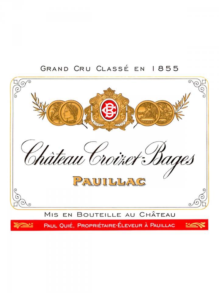 Château Croizet-Bages 2011 Original wooden case of 12 bottles (12x75cl)