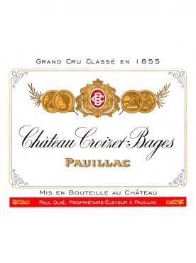Château Croizet-Bages 2016 Original wooden case of 12 bottles (12x75cl)