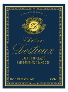 Château Destieux 2007 Original wooden case of 6 bottles (6x75cl)