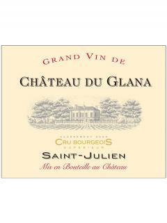 Château du Glana 2011 Original wooden case of 6 bottles (6x75cl)