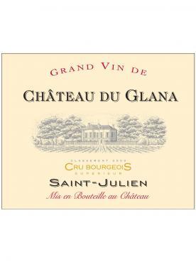 Château du Glana 2018 Original wooden case of 6 bottles (6x75cl)