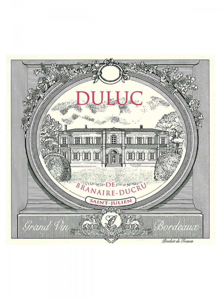 Duluc de Branaire-Ducru 2011 Original wooden case of 12 bottles (12x75cl)