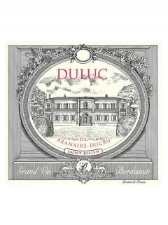 Duluc de Branaire-Ducru 2010 Original wooden case of 12 bottles (12x75cl)
