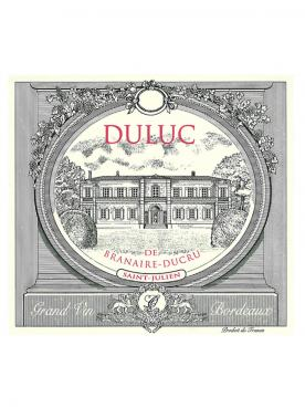 Duluc de Branaire-Ducru 2013 Original wooden case of 24 half bottles (24x37.5cl)