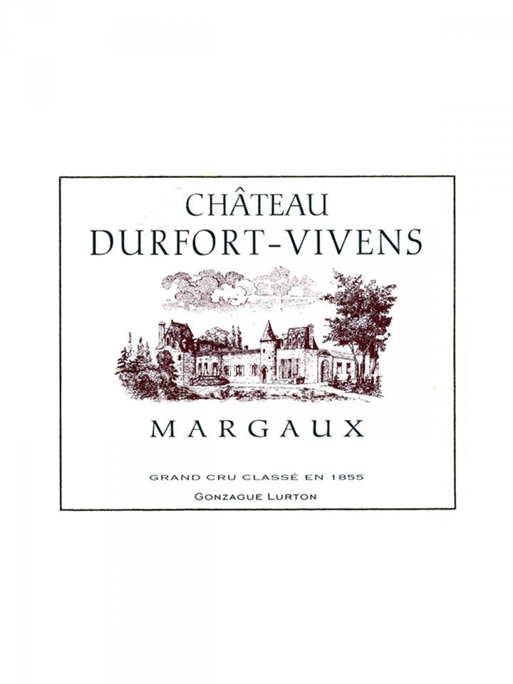 Château Durfort-Vivens 2015 Original wooden case of 6 bottles (6x75cl)