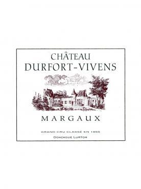Château Durfort-Vivens 1998 Original wooden case of 12 bottles (12x75cl)