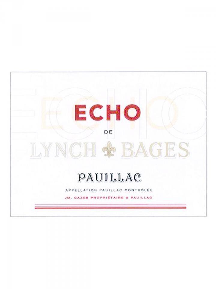 Echo de Lynch Bages 2017 Original wooden case of 6 bottles (6x75cl)