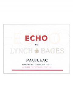 Echo de Lynch Bages 2017 Original wooden case of 12 bottles (12x75cl)