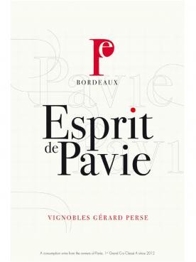 Esprit de Pavie 2014 Original wooden case of 12 half bottles (12x37.5cl)