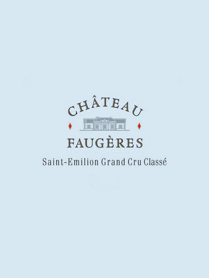 Château Faugères 2013 Original wooden case of 12 bottles (12x75cl)