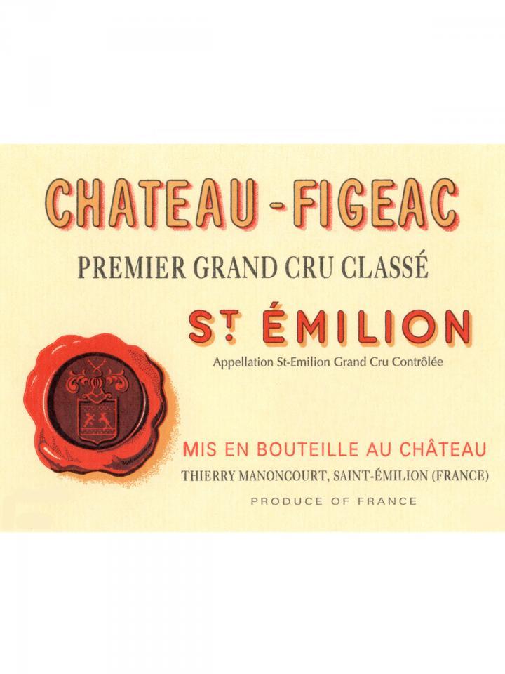 Château Figeac 2010 Original wooden case of 6 bottles (6x75cl)