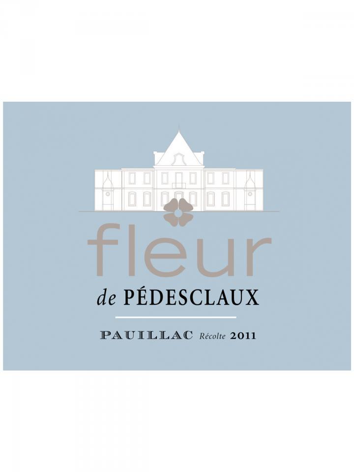 Fleur de Pedesclaux 2013 Original wooden case of 12 bottles (12x75cl)