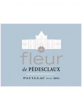 Fleur de Pedesclaux 2018 Original wooden case of 6 bottles (6x75cl)