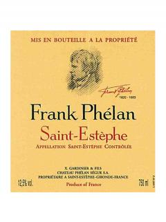 Frank Phélan 2013 Original wooden case of 6 bottles (6x75cl)