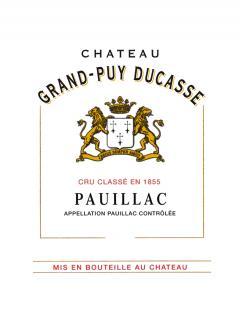 Château Grand-Puy Ducasse 2014 Original wooden case of 12 bottles (12x75cl)