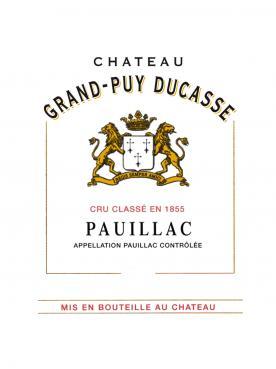Château Grand-Puy Ducasse 2016 Original wooden case of 12 bottles (12x75cl)