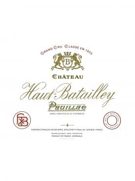 Château Haut-Batailley 1999 Original wooden case of 12 bottles (12x75cl)
