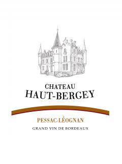 Château Haut-Bergey 2015 Original wooden case of 6 bottles (6x75cl)
