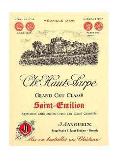 Château Haut Sarpe 1974 Bottle (75cl)