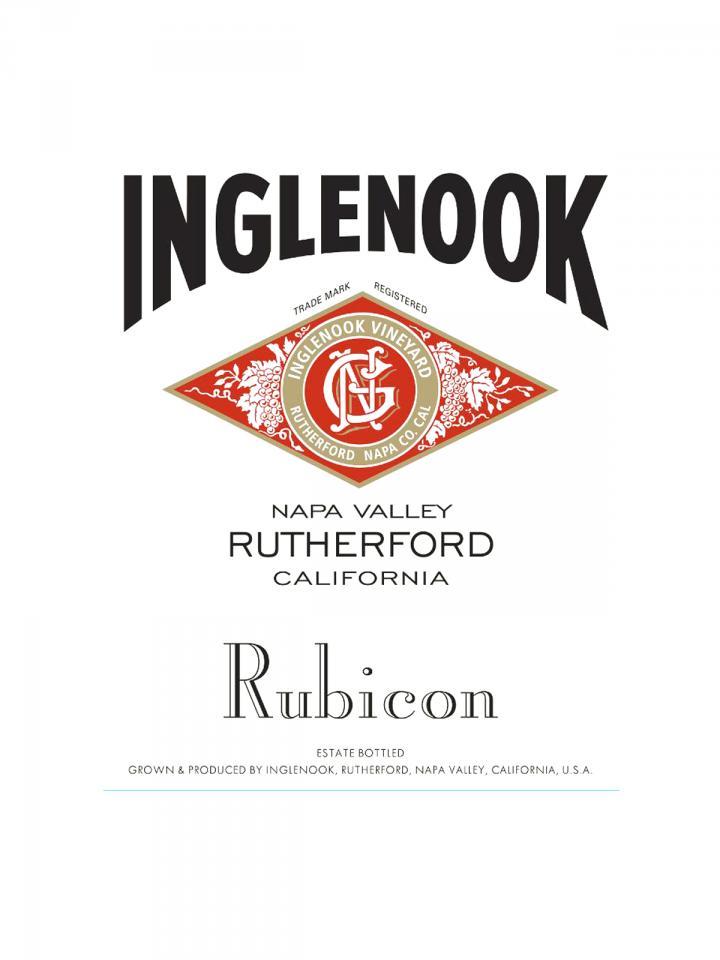 Inglenook Rubicon 2015 Original wooden case of 6 bottles (6x75cl)
