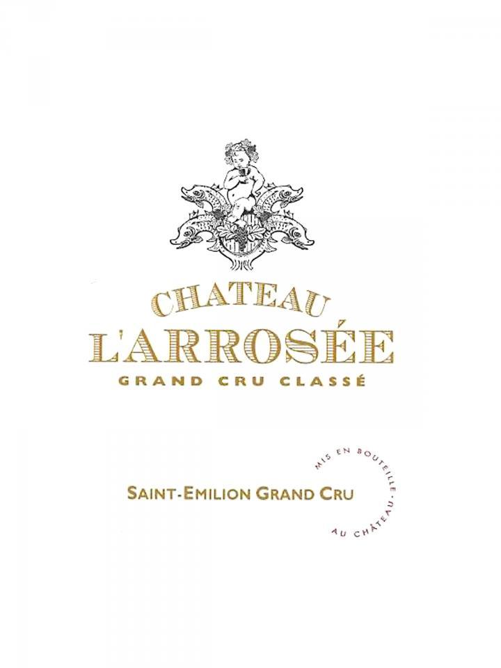Château l'Arrosée 2007 Original wooden case of 12 bottles (12x75cl)