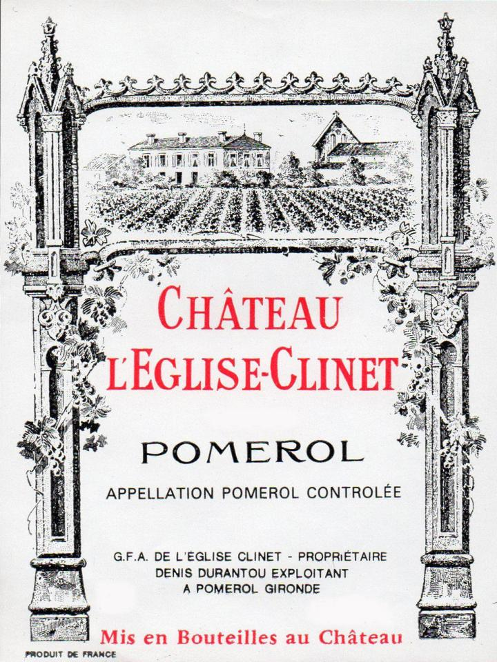 Château l'Eglise-Clinet 2016 Original wooden case of 12 bottles (12x75cl)