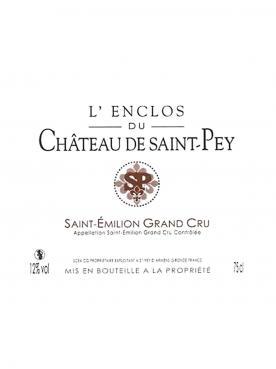 L'Enclos du Château de Saint Pey 2014 6 bottles (6x75cl)