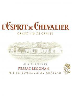 L'Esprit de Chevalier 2018 6 bottles (6x75cl)