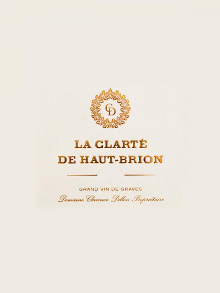 La Clarté de Haut Brion 2016 Original wooden case of 6 bottles (6x75cl)
