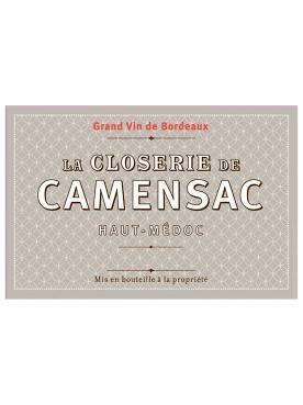 La Closerie de Camensac 2016 6 bottles (6x75cl)