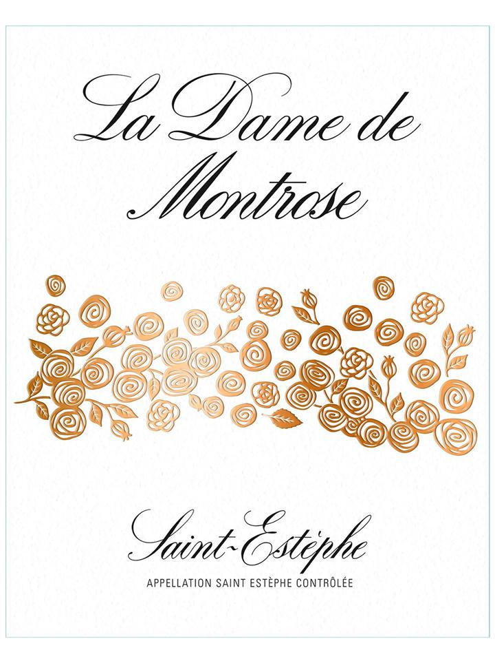 La Dame de Montrose 2012 Original wooden case of 12 bottles (12x75cl)