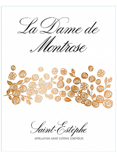 La Dame de Montrose 2017 Original wooden case of 12 bottles (12x75cl)
