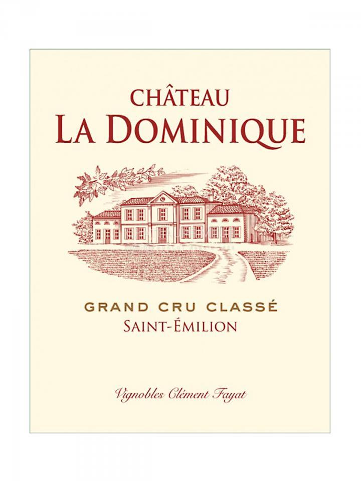 Château La Dominique 2013 Original wooden case of 12 bottles (12x75cl)