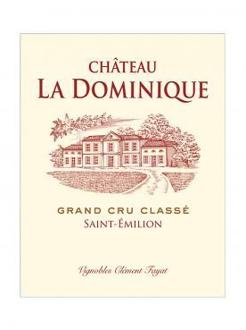 Château La Dominique 2015 Original wooden case of 12 bottles (12x75cl)