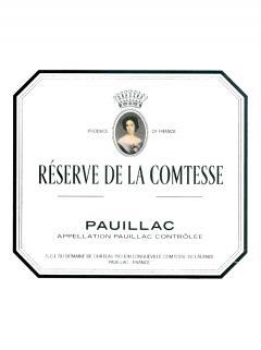 La Réserve de la Comtesse 2017 Original wooden case of 12 bottles (12x75cl)