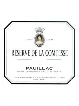 La Réserve de la Comtesse 2016 Original wooden case of 6 bottles (6x75cl)