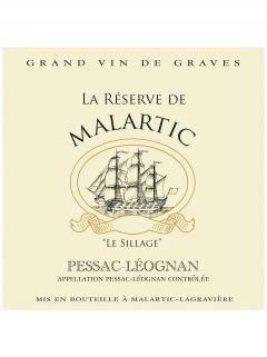 La Réserve de Malartic 2016 6 bottles (6x75cl)