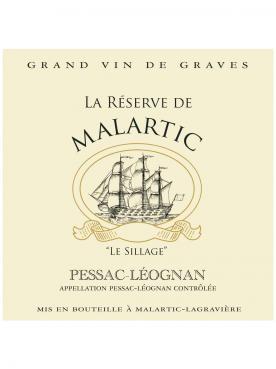 La Réserve de Malartic 2013 Original wooden case of 12 bottles (12x75cl)