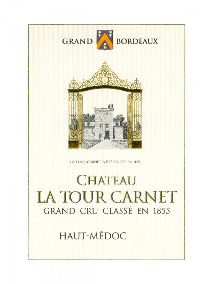 Château La Tour Carnet 2015 Original wooden case of 6 bottles (6x75cl)